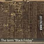 "What was the meaning of ""Black Friday""?"