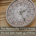 Consecutive numbers on the calendar