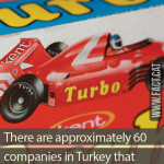 Number of bubble gum companies in Turkey