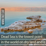 What is the lowest point in the world?