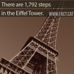 How many steps are in the Eiffel Tower?