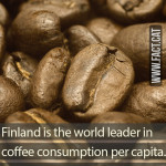 Who drinks the most coffee?