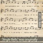 """Jingle Bells"" was originally a Thanksgiving song"