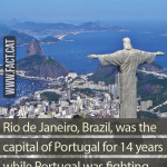 When was Rio capital of Portugal?