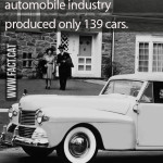 How many cars were made during WWII in the US?