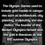 Olympic art competitions