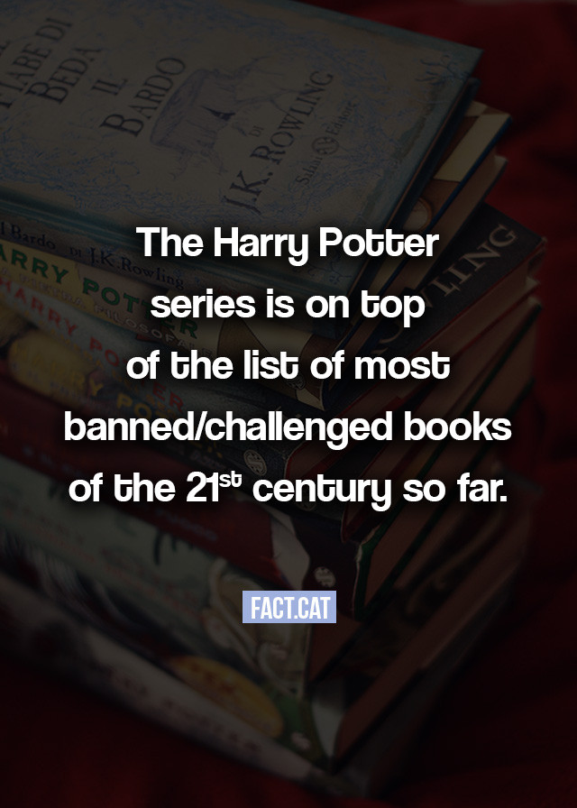 Harry Potter Book Banned ~ What is the most banned book of decade